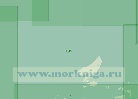 12341 Северная часть архипелага Норденшельда и остров Кирова (Масштаб 1:200 000)