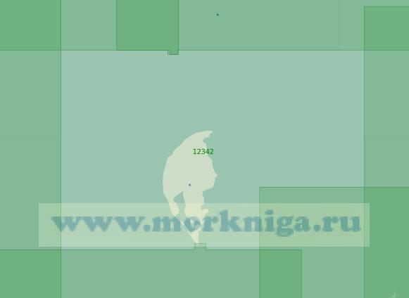 12342 Острова Арктического Института и Известий ЦИК (Масштаб 1:200 000)