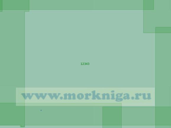 12343 Северные подходы к островам Известий ЦИК (Масштаб 1:200 000)