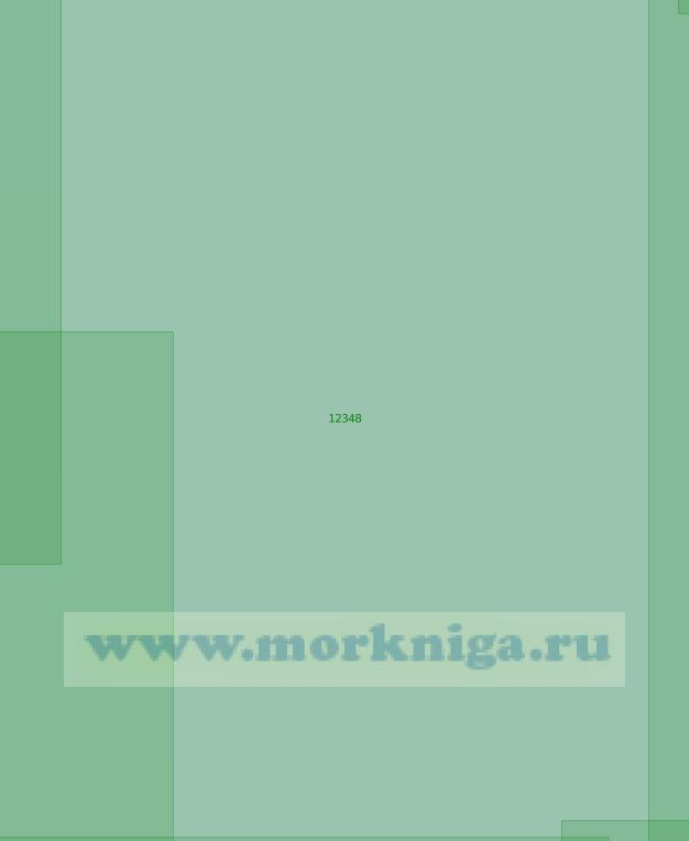 12348 От 78°23'N до 80°10'N, от 82°00'Е до 89°00'Е (Масштаб 1:200 000)