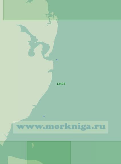 12403 От острова Псов до острова Преображения (Масштаб 1:200 000)