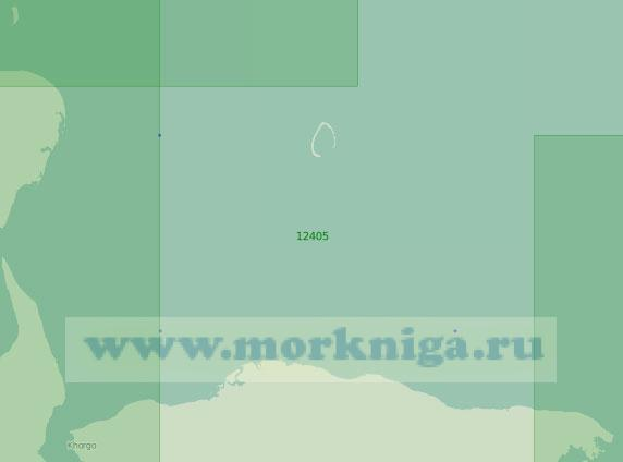 12405 От острова Преображения до мыса Терпяй-Тумса (Масштаб 1:200 000)