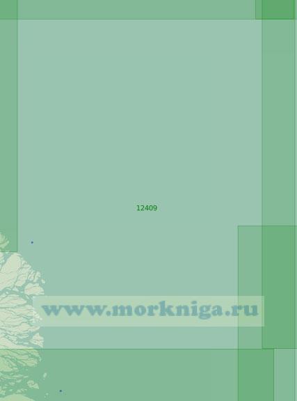 12409 Район к северо-востоку от дельты реки Лена (Масштаб 1:200 000)