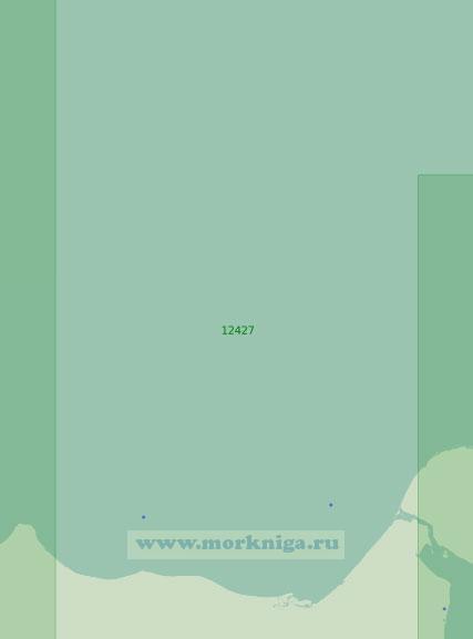 12427 От мыса Большой Баранов до острова Айон (Масштаб 1:200 000)