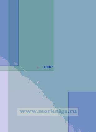 13007 От острова Харлов до острова Нокуев (Масштаб 1:100 000)