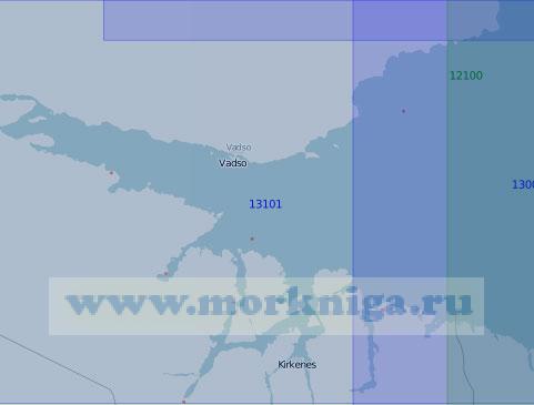 13101 Залив Варангер-фьорд (Масштаб 1:100 000)