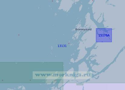 13131 От острова Лека до острова Вега (Масштаб 1:100 000)