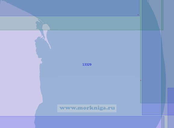 13329 От мыса Дровяной до реки Сабколянгъяха (Масштаб 1:100 000)