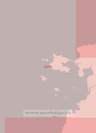 15378 Подходы к острову Диксон (Масштаб 1:50 000)