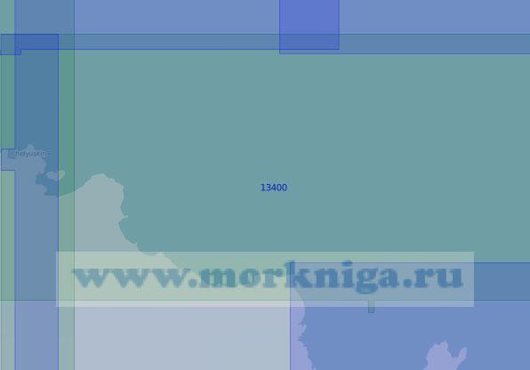 13400 От мыса Челюскин до острова Самуила (Масштаб 1:100 000)