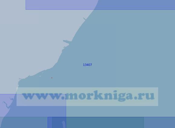 13407 От лагуны Тёплая до мыса Сибирский (Масштаб 1:100 000)