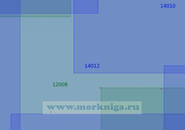 14012 От 65°30'N до 66°06'N, от 35°28'Е до 37°30'Е (Масштаб 1:100 000)