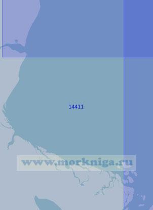 14411 От мыса Крестовский до протоки Походская (Масштаб 1:100 000)