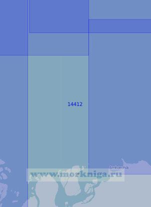 14412 Подходы к дельте реки Колыма (Масштаб 1:100 000)