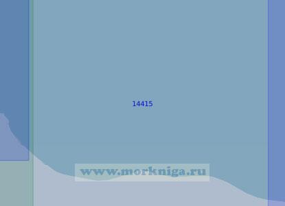 14415 От светящего знака Большой Баранов до устья реки Элевикууль (Масштаб 1:100 000)