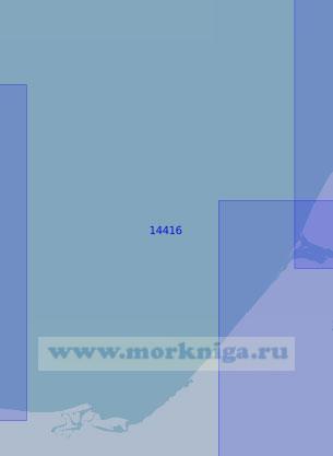 14416 От устья реки Раучуа до пролива Малый Чаунский (Масштаб 1:100 000)