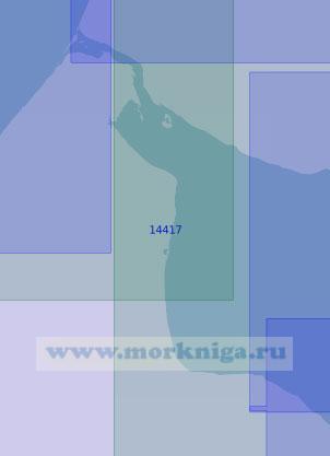 14417 Западная часть Чаунской губы (Масштаб 1:100 000)