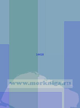 14418 От пролива Малый Чаунский до острова Ченкууль (Масштаб 1:100 000)