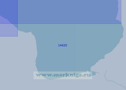 14420 Южная часть Чаунской губы (Масштаб 1:100 000)