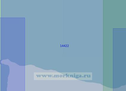 14422 От мыса Шелагский до острова Шалаурова (Масштаб 1:100 000)