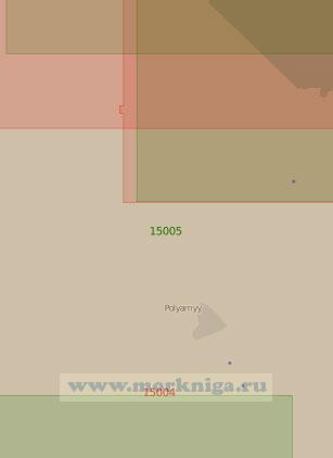 15005 Северная часть Кольского залива (Масштаб 1:25 000)