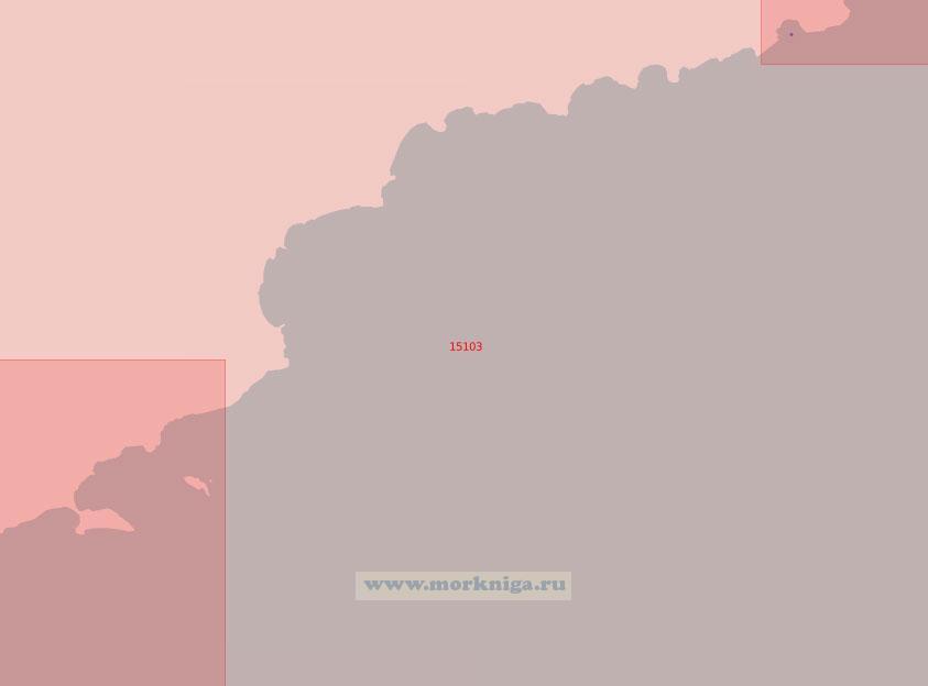 15103 От порта Вардё до полуострова Стуре-Эккерёй (Масштаб 1:50 000)