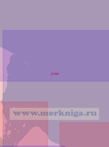 15365 Подходы к Гыданскому проливу с северо-востока (Масштаб 1:50 000)