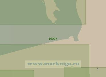 16007 От острова Мудьюгский до Чижовского рейда (Масштаб 1:25 000)