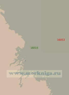 16015 Губа Гридина с подходами (Масштаб 1:25 000)