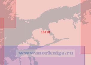 16118 От острова Эдёй до маяка Тернинген (Масштаб 1:50 000)