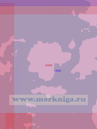 16306 Проливы Еленевского и Глубокий (Масштаб 1:50 000)