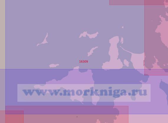 16309 От пролива Хмызникова до острова Попова-Чухчина (Масштаб 1:50 000)