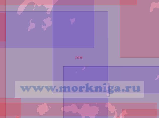 16325 От острова Моисеева до острова Тыртова (Масштаб 1:50 000)