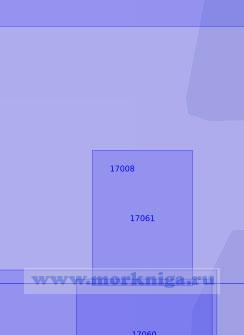 17008 От банки Анна-Корга до мыса Абрам (Масштаб 1:5 000)