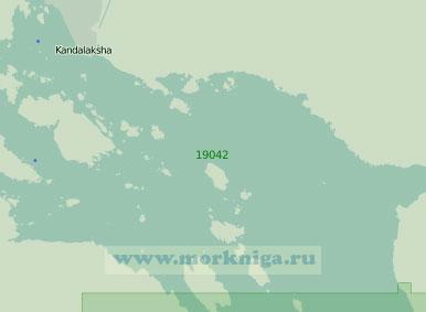 19042 Кандалакшский рейд с подходами (Масштаб 1:25 000)