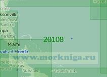 20108 Район Багамских островов (Масштаб 1:2 000 000)