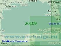 20109 Мексиканский залив (Масштаб 1:2 000 000)