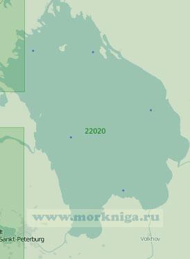 22020 Ладожское озеро (Масштаб 1:250 000)