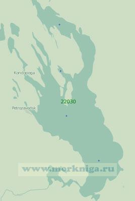 22030 Онежское озеро (Масштаб 1:250 000)