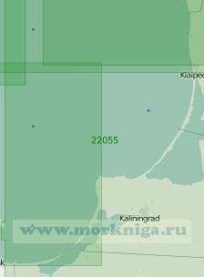 22055 От маяка Папе до Гданьского залива (Масштаб 1:200 000)