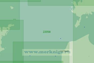 22058-INT1216 От Ирбенского пролива до острова Готланд (Масштаб 1:250 000)