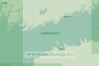 22060-INT1213 Западная часть Финского залива (Масштаб 1:250 000)