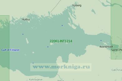 22061-INT1214 Восточная часть Финского залива (Масштаб 1:250 000)