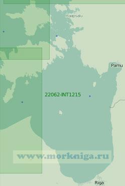 22062-INT1215 Рижский залив (Масштаб 1:250 000)