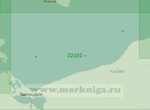 22101 От порта Устка до острова Рюген (Масштаб 1:200 000)