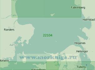 22104 Южная часть пролива Каттегат (Масштаб 1:200 000)