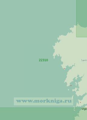 22310 От островов Сисаргас до порта Виго (Масштаб 1:200 000)
