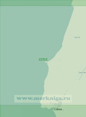 22312 От мыса Мондегу до Лиссабона (Масштаб 1:200 000)