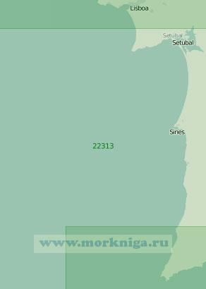 22313 От Лиссабона до мыса Сан-Висенти (Масштаб 1:200 000)