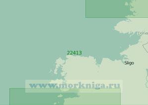 22413 От залива Бойлах (Гуибарра) до залива Клу (Масштаб 1:200 000)